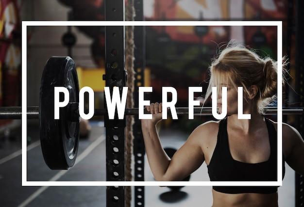 Costruisci il tuo corpo esercizio di fitness per la forza mettiti in forma