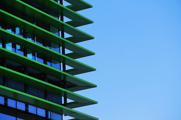 Building architecture in the city