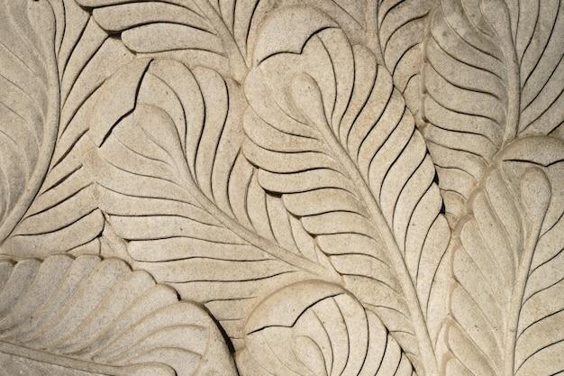 Building facade decoration plaster texture