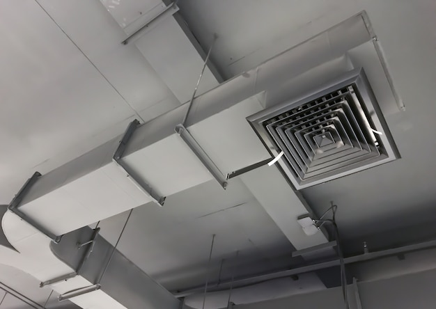 Building interior air duct