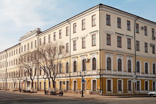 Здание оренбургского государственного педагогического университета