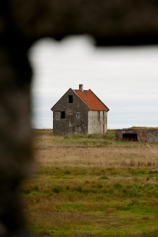 Building in reykjanes,  iceland