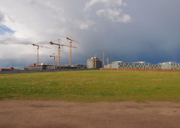 Building site in berlin