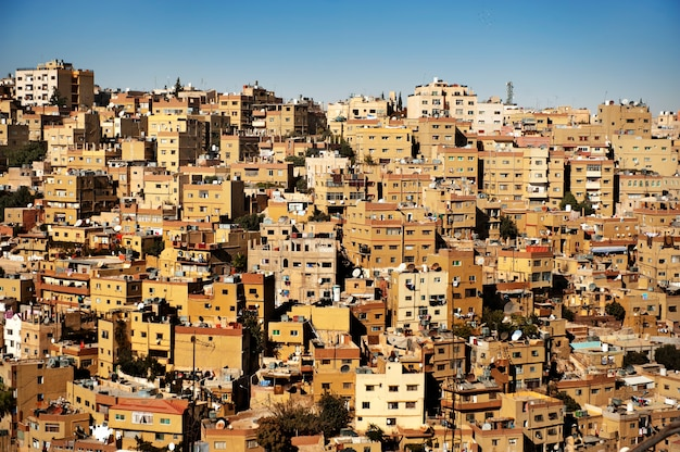Buildings in amman city