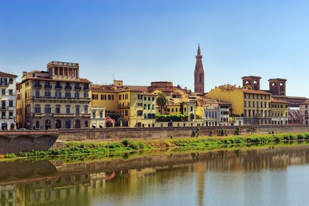 建物とフィレンツェの観光スポット。