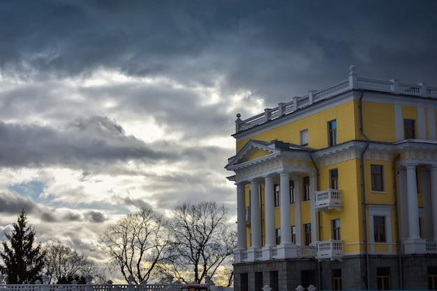 Buildings in arkhangelskoye estate