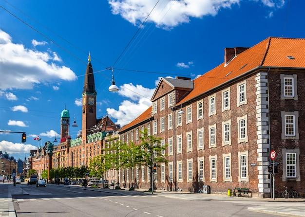 Здания в центре копенгагена,