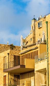 ヤッファの旧市街の建物-イスラエル、テルアビブ