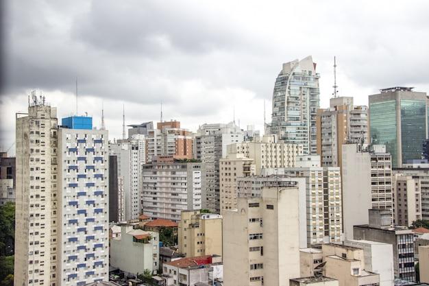 Здания центра города сан-паулу
