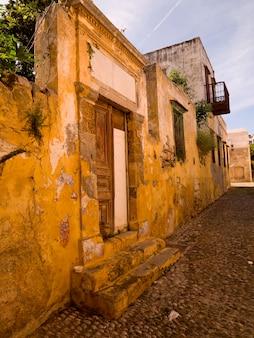 Buildings in rhodes greece