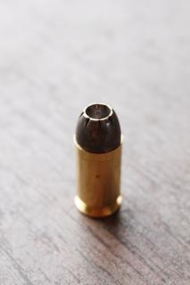 A bullet, dangerous