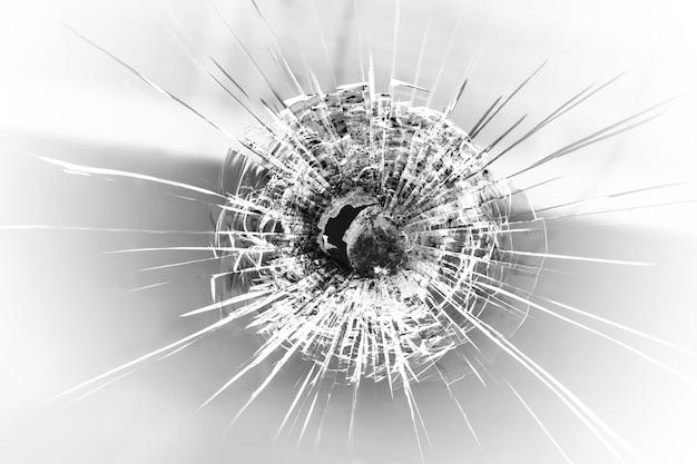 Bullet hole