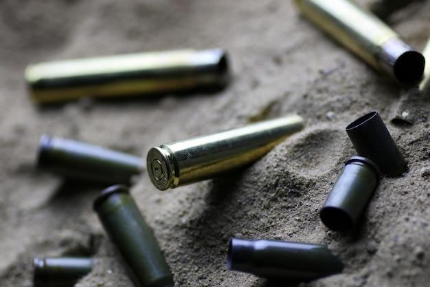 砂の中の弾丸