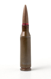 Bullet isolated on white