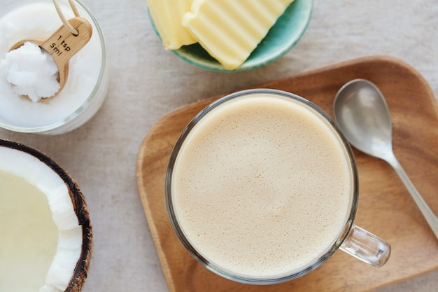 Bulletproof coffee, ketogenic drink