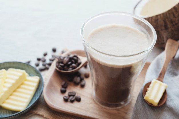 Bulletproof coffee,  ketogenic food