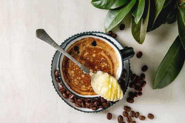 Пуленепробиваемый кофе с маслом