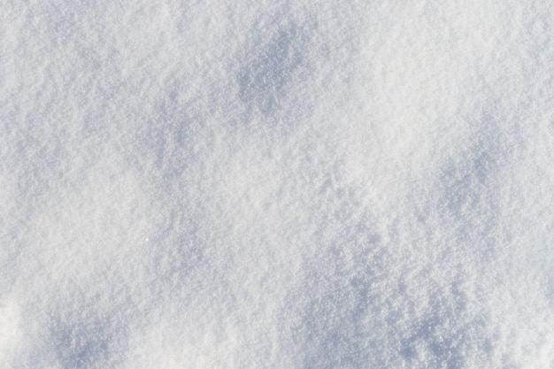 Bumpy fresh frosty snow texture background top view
