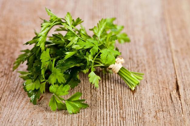 Bunch of fresh parsley