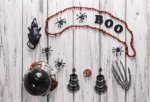 Mazzo di cose di halloween