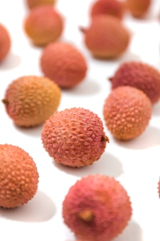 Bunch of lychee fruits