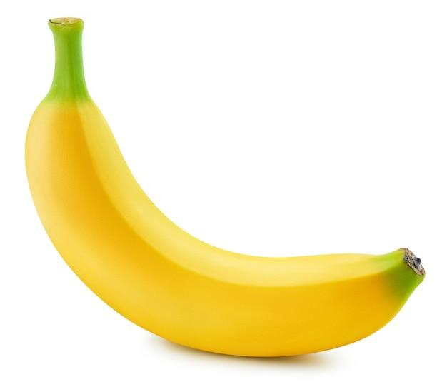 Букет из бананов, изолированные на белом фоне. спелые бананы.