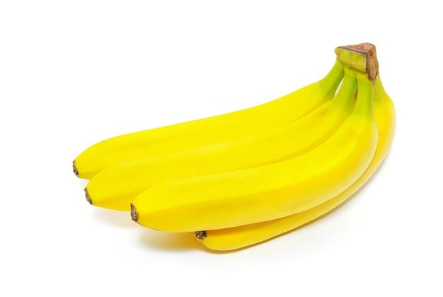 Связка бананов, изолированные на белом фоне