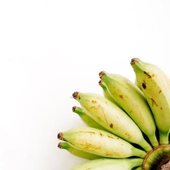 分離されたバナナの束
