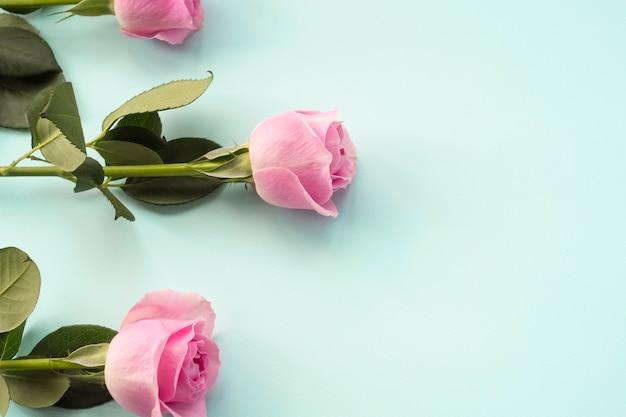 木製の背景にラベンダーの花と空のタグの束