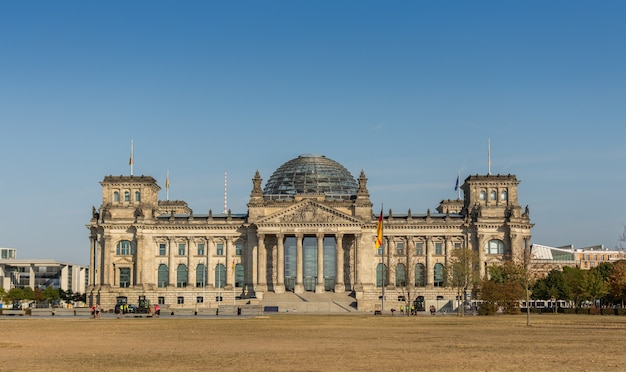 The bundestag is the german federal parliament, berlin