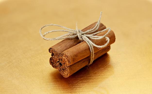Bundle of cinnamon stick