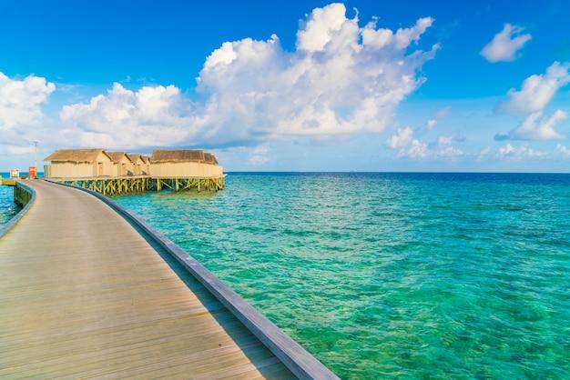 Bungalow nature sea reef natural