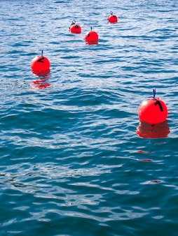 Buoy numbered