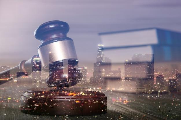 立証責任、法律法の概念イメージ。