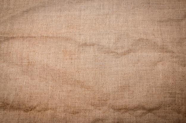 A burlap canvas fabric texture background