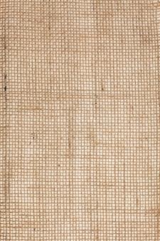 Burlap fabric texture background.