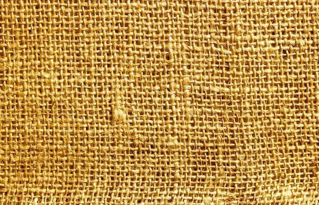 黄麻布ヘシアン荒布織りテクスチャ背景