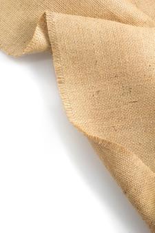 삼베 hessian 약탈 흰색 절연