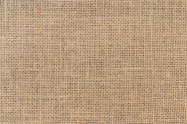 Burlap sack background and texture