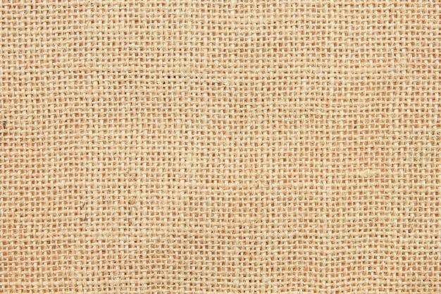 黄麻布のテクスチャの背景