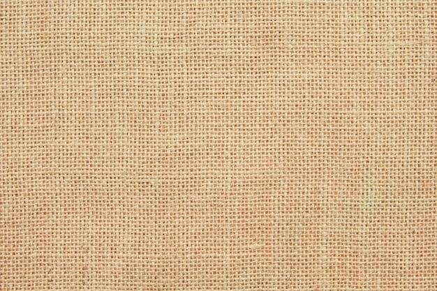 黄麻布のテクスチャ背景