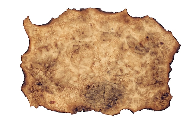 Burn out brown paper texture background sheet of old paper textures backdrop.