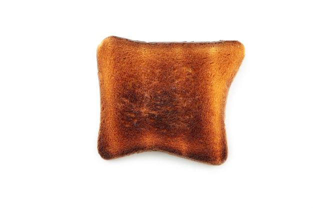 탄된 토스트 빵 절연입니다. 평면도