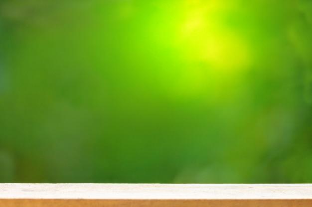 Burred green background.
