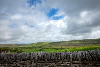 Burren scenery   hdr  ancient