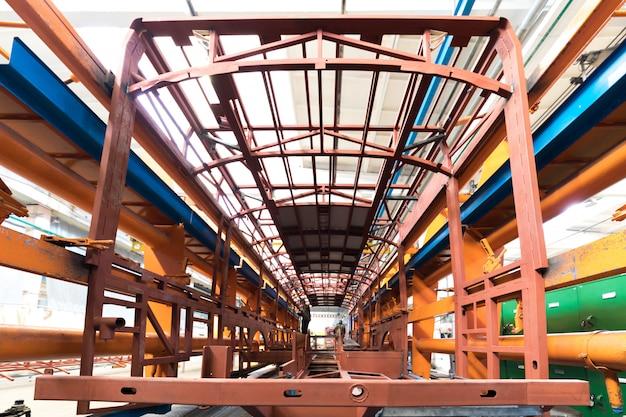 Bus production manufacture