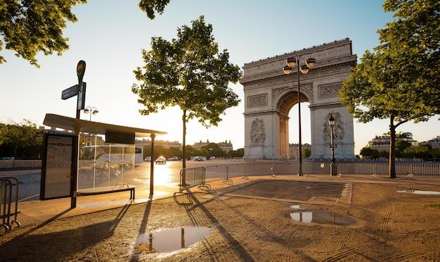 프랑스의 버스 정류장