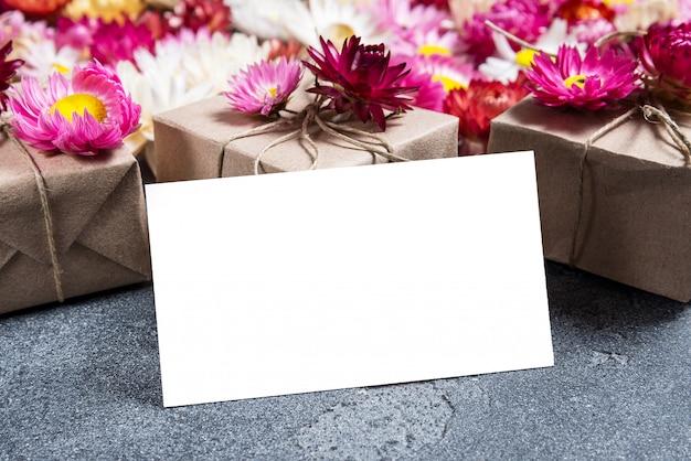 花屋の名刺