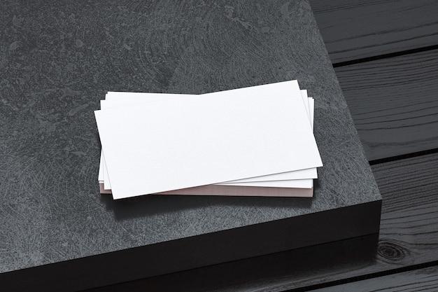 Визитная карточка mockup для брендинга и айдентики