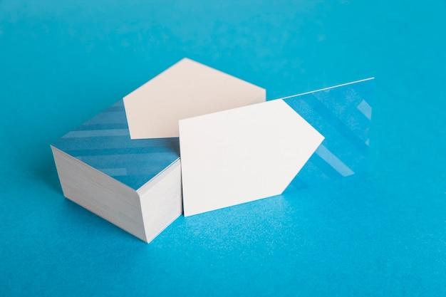 Макет визитной карточки для компании